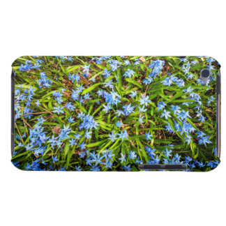 Spring blue flowers glory-of-the-snow iPod Case-Mate case