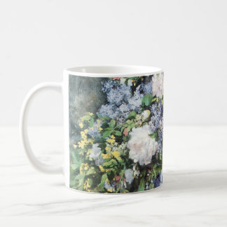 Spring Bouquet by Pierre Renoir, Vintage Flowers Coffee Mug