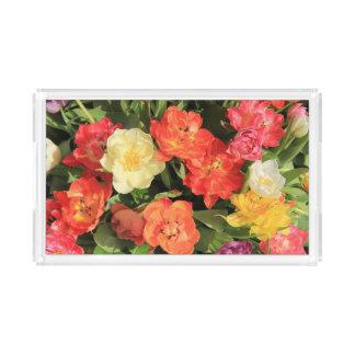 Spring bouquet by Thespringgarden Acrylic Tray