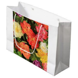 Spring bouquet by Thespringgarden Large Gift Bag
