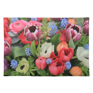 Spring bouquet by Thespringgarden Placemat