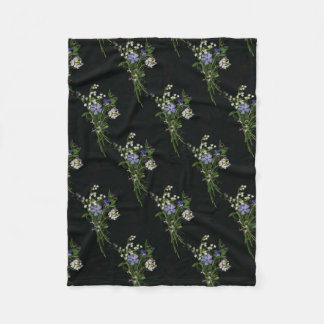 Spring bouquet  Fleece Blanket, Small