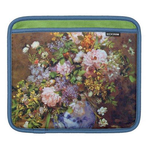 Spring Bouquet Impressionism Fine Art iPad Sleeve