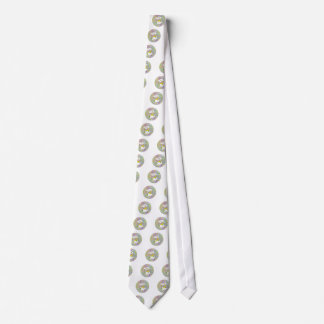Spring Bouquet Maneki Neko (Lucky Cat) Tie