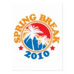 Spring Break 2010 Postcard