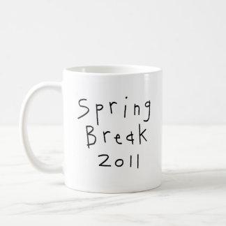 Spring Break 2011 Basic White Mug