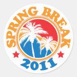 Spring Break 2011 Sticker