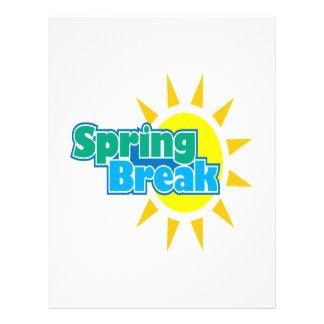 Spring Break 4 Personalized Flyer