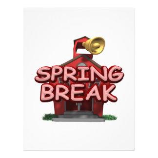 Spring Break Custom Flyer