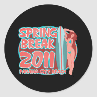 Spring Break Panama City Beach Sticker