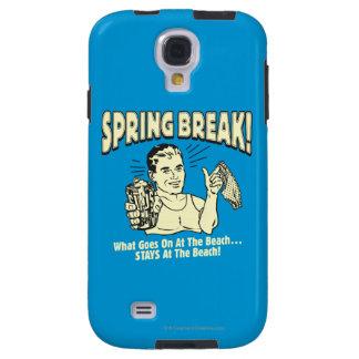 Spring Break: Stays at the Beach Galaxy S4 Case