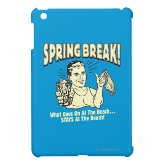 Spring Break: Stays at the Beach iPad Mini Covers