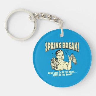 Spring Break: Stays at the Beach Key Ring