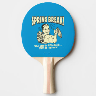 Spring Break: Stays at the Beach Ping Pong Paddle