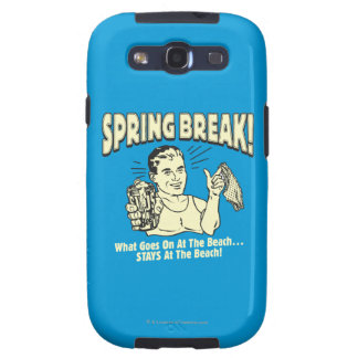 Spring Break: Stays at the Beach Samsung Galaxy SIII Cases