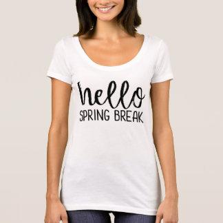 Spring Break Teacher Tee