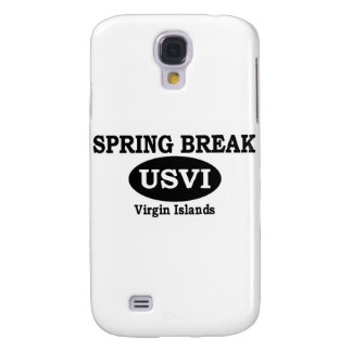 Spring Break Virgin Islands Samsung Galaxy S4 Cases