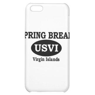 Spring Break Virgin Islands iPhone 5C Cover