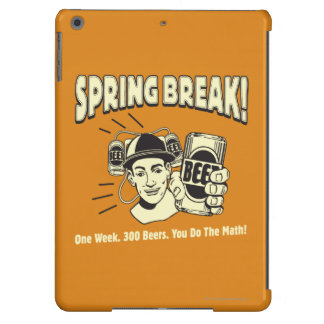 Spring Break: You do the Math iPad Air Cover