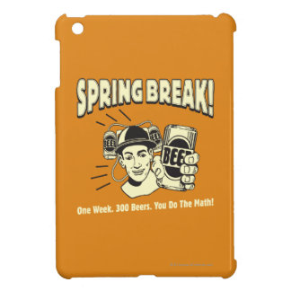 Spring Break: You do the Math Cover For The iPad Mini