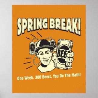 Spring Break: You do the Math Poster