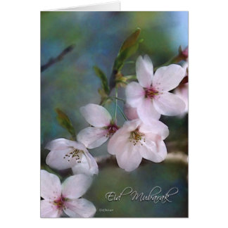 Spring Buds - Eid Mubarak Card