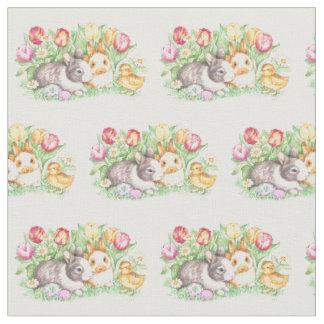 Spring Bunnies Easter Bunny Fabric