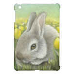 Spring bunny iPad mini cover