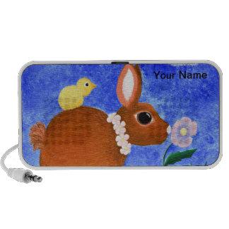 Spring Bunny Travelling Speakers
