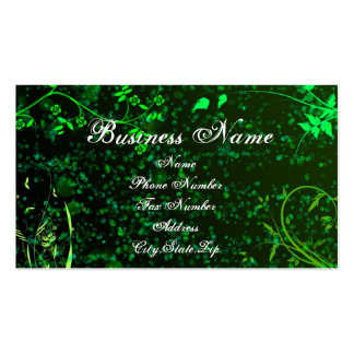 spring Double-Sided standard business cards (Pack of 100)
