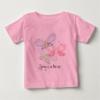 Spring Butterflies Baby T-Shirt