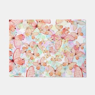 Spring Butterflies Doormat