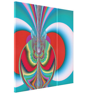 Spring Butterfly Gallery Wrap Canvas