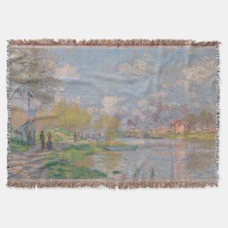 Spring by the Seine Claude Monet