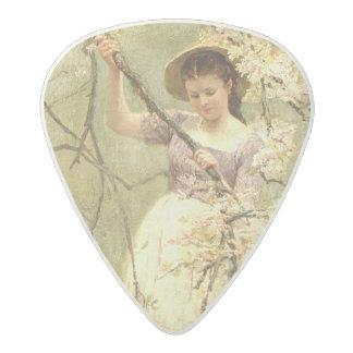 Spring, c.1880 acetal guitar pick