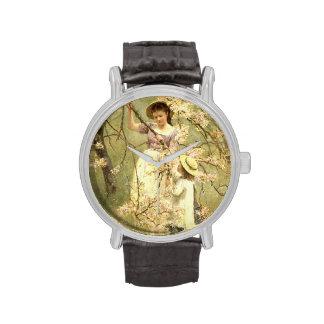 Spring, c.1880 wristwatches