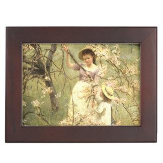 Spring, c.1880 keepsake box