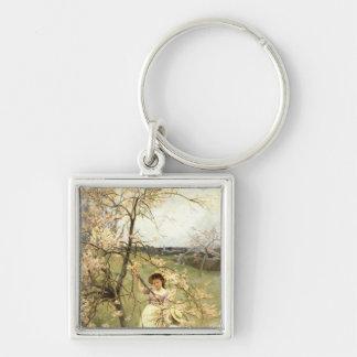 Spring, c.1880 key chain