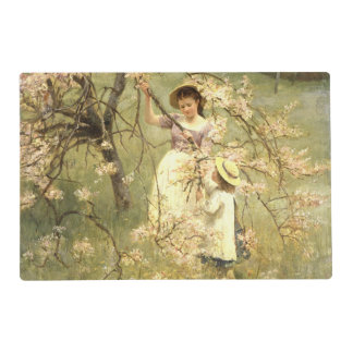 Spring, c.1880 laminated placemat