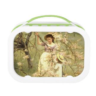 Spring, c.1880 lunchbox