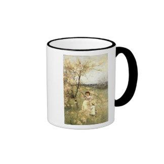 Spring, c.1880 mugs