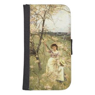 Spring, c.1880 phone wallet