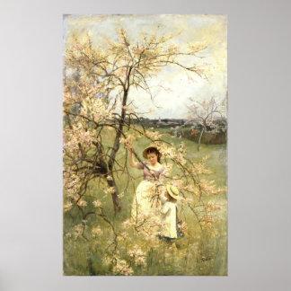 Spring, c.1880 poster