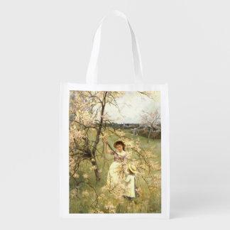 Spring, c.1880 reusable grocery bag