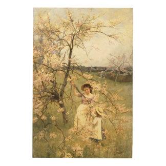 Spring, c.1880 wood prints