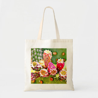 Spring Cactus Bulbs Tiny Tote Bag