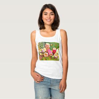 Spring Cactus Bulbs Women's Basic Tank Top