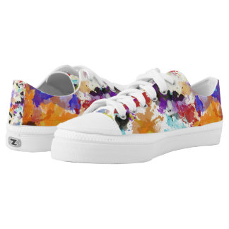 Spring Camouflage Low Top Printed Shoes