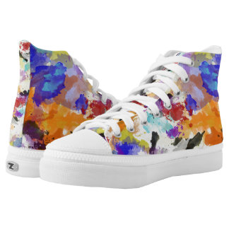 Spring Camouflage Printed Shoes