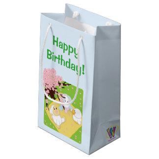 Spring Celebration Picnic Small Gift Bag
